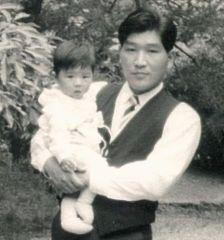 Kenzo Tsujimoto with Daughter