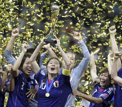 Women's World Cup Champion Japan