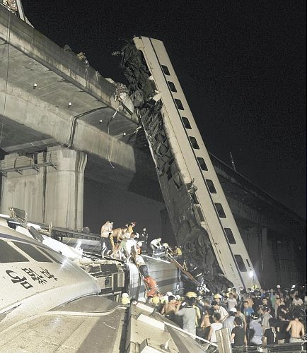 Chinese HSR Accident