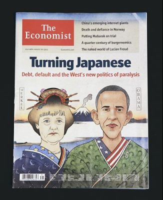 Obama Merkel Turning Japanese