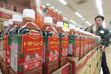 Tomato Juice in Japan
