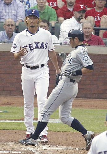 Darvish and Ichiro